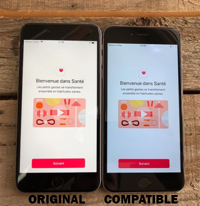 Différence entre un écran Compatible et écran Premium